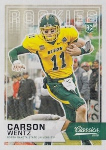 2016 Panini Classics Football Base RC Carson Wentz