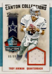 2016 Panini Classics Football Cards - SP Odds and Print Runs 27