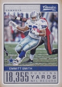 2016 Panini Classics Football Cards - SP Odds and Print Runs 34