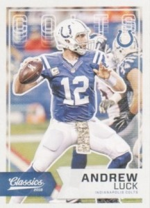 2016 Panini Classics Football Variations Andrew Luck