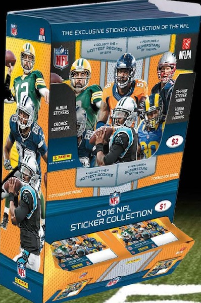 2016 Panini NFL Stickers Collection - Checklist Added 3