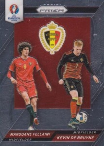 2016 Panini Prizm Euro Country Combinations Duals Belgium