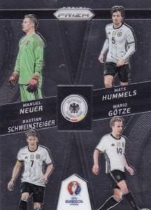2016 Panini Prizm Euro Country Combinations Quads Germany