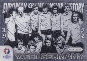 2016 Panini Prizm Euro European Championship History