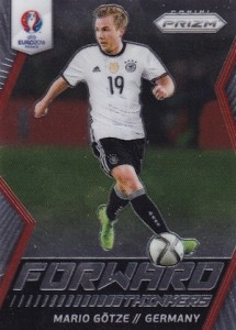 2016 Panini Prizm Euro Forward Thinkers Gotze