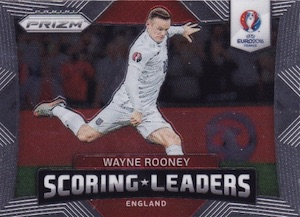 2016 Panini Prizm Euro SCoring Leaders Rooney