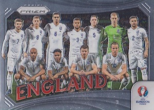 2016 Panini Prizm Euro Team Photo England
