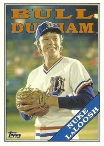 2016 Topps Archives Baseball Bull Durham Nuke LaLoosh