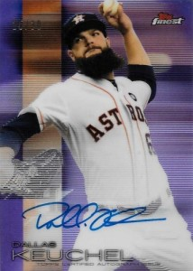 2016 Topps Finest Baseball Autographs Dallas Keuchel
