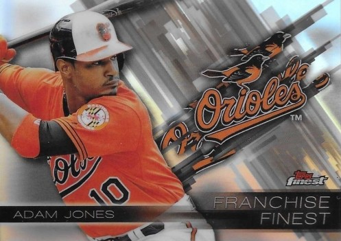 2016 Topps Finest Baseball Franchise Adam Jones