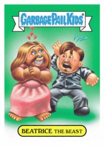 2016 Topps Garbage Pail Kids Prime Slime TV Preview Stickers 20