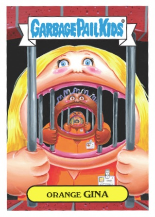 2016 Topps Garbage Pail Kids Prime Slime TV Preview Stickers 1