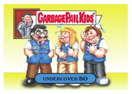2016 Topps Garbage Pail Kids Prime Slime TV Preview Stickers 22