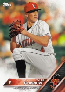 2016 Topps Pro Debut Baseball Base 125 Tyler Glasnow