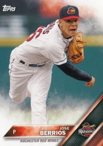 2016 Topps Pro Debut Baseball Base 25 Jose Berrios
