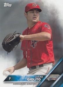 2016 Topps Pro Debut Baseball Variations Lucas Giolito