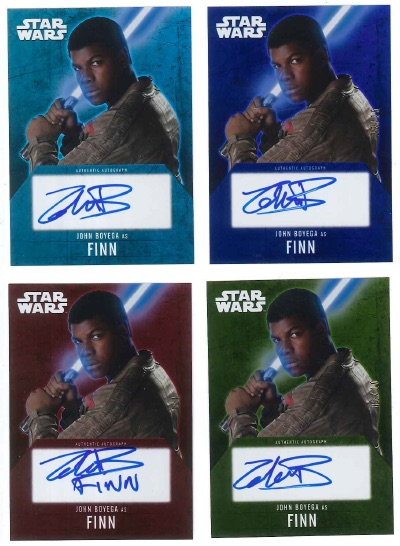 2016 Topps Star Wars Evolution Trading Cards 27