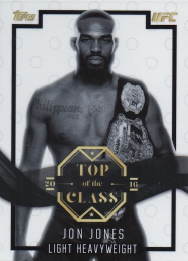 2016 Topps UFC Top Of The Class Trading Card Box
