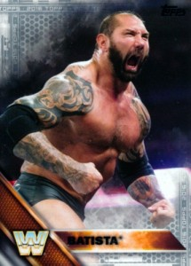 2016 Topps WWE Base Silver Batista