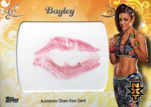 2016 Topps WWE Divas Kiss Bayley