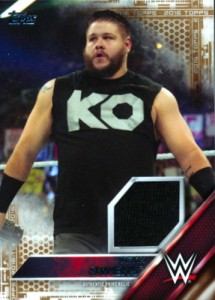 2016 Topps WWE Shirt Relics Kevin Owens