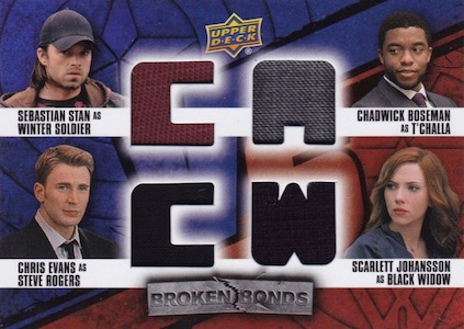 2016 Upper Deck Captain America Civil War Trading Cards 30