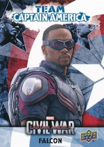 2016 Upper Deck Captain America Civil War Trading Cards 36