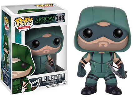Funko Pop Arrow Vinyl Figures 348 The Green Arrow
