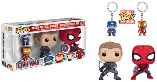Funko Pop Captain America Civil War Vinyl Figures 22