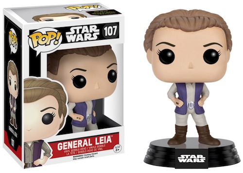 Funko Pop Star Wars 107 General Leia Force Awakens