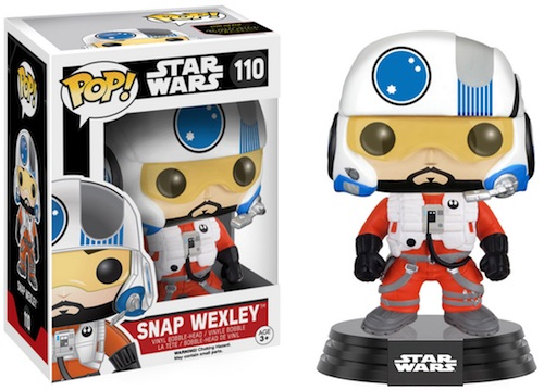Funko Pop Star Wars 110 Snap Wexley Force Awakens