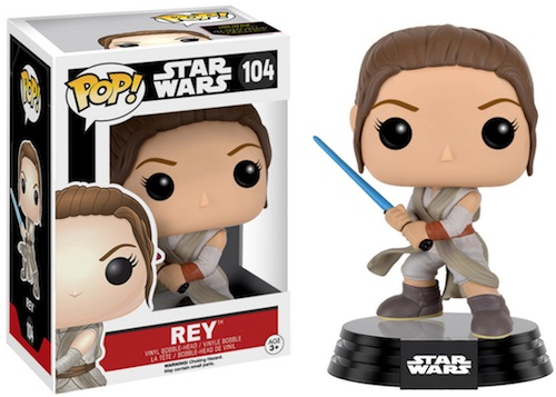 Funko Pop Star Wars The Force Awakens 104 Rey
