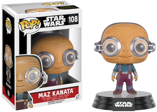 Funko Pop Star Wars The Force Awakens 108 Maz Kanata