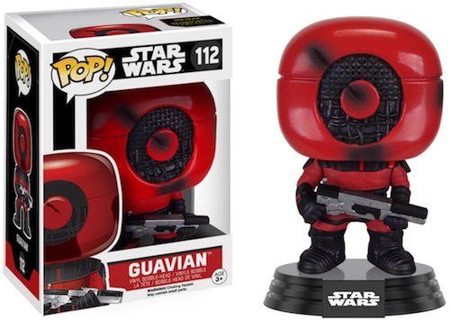 Funko Pop Star Wars The Force Awakens 112 Guavian