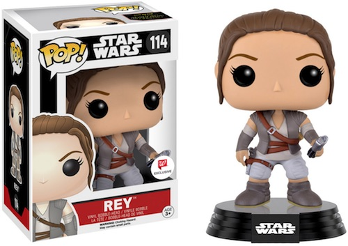 Funko Pop Star Wars The Force Awakens 114 Rey lightsaber Walgreens