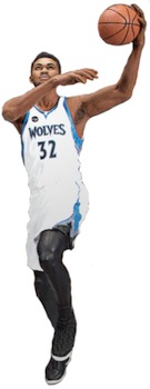 McFarlane NBA 29 Sports Pick Figures Karl-Anthony Towns