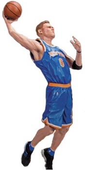 McFarlane NBA 29 Sports Pick Figures Kristaps Porzingis