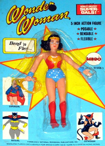 Mego Bend n Flex Wonder Woman