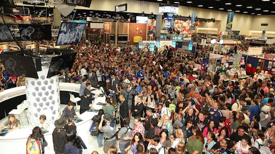 San Diego Comic-Con crowds