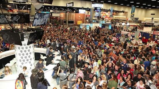 San Diego Comic-Con crowds
