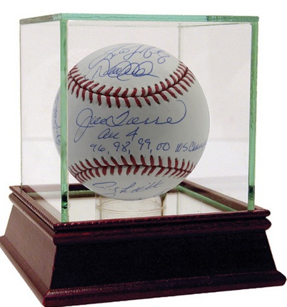 Steiner Yankees Dynasty Collection Signed Baseball