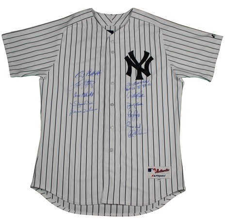 Steiner Yankees Dynasty Collection Signed Yankees Jersey