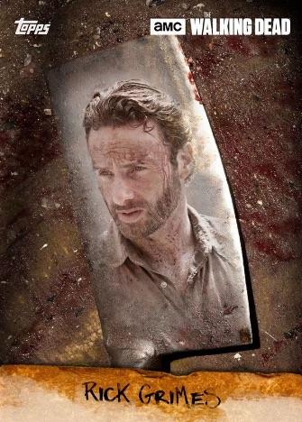 Topps Walking Dead Card Trader Blade Marathon Rick Grimes