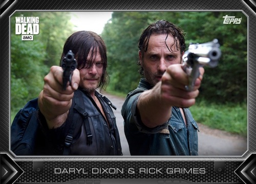 Topps Walking Dead Cards and App Details 1