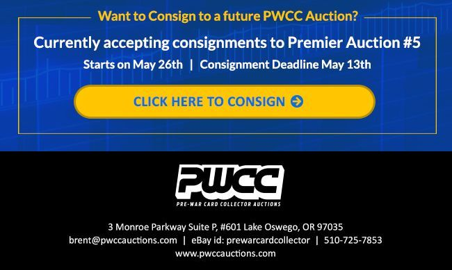 PWCC Premier Auction #4 Closing Over the Next Few Weeks 2