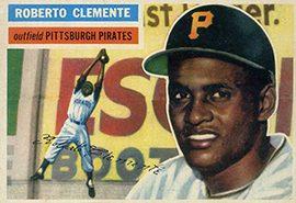 1956 Topps Roberto Clemente 270x300