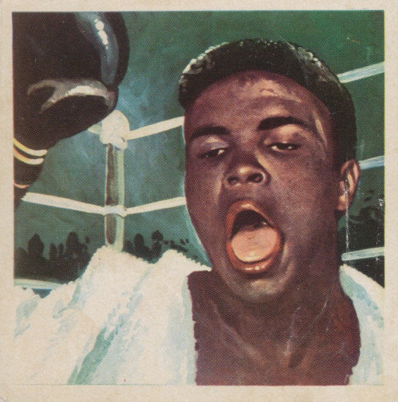 1964 Simon Chocolates Cassius Clay Muhammad Ali