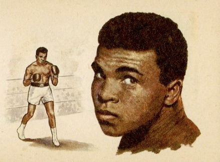1965 Bancroft Tiddlers Giants of Sport Cassius Clay
