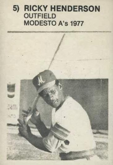Top 10 Rickey Henderson Baseball Cards 9