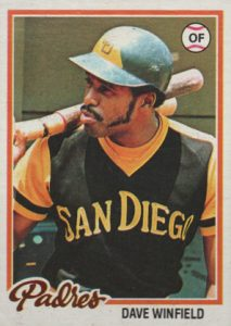 Top 10 Dave Winfield Baseball Cards 1